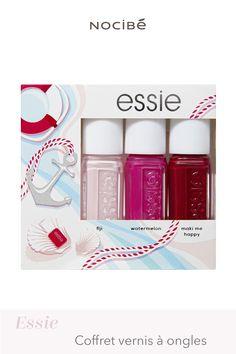 Essie Nail Polish, Shades, Set Sail, Kit, Nails, Smooth, Happy, Nail Polish, Pageants
