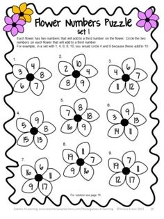 Easter Math Activities: Easter Math Worksheets, Games and