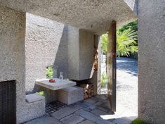 Image result for carefully hewn rough concrete
