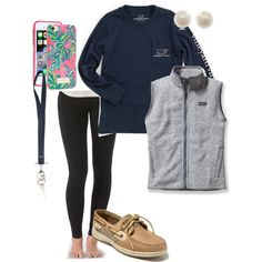 extra preppy by pmargaret on Polyvore featuring Patagonia c577b94b279e