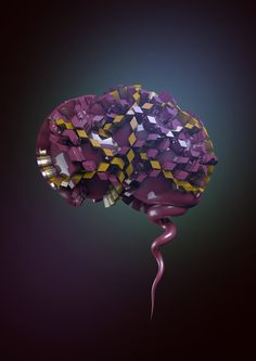 Cerebral - Body Parts by Victoria Cartwright, via Behance