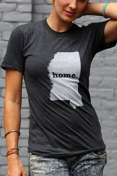 Mississippi Home TShirt by TheHomeT on Etsy, $20.00