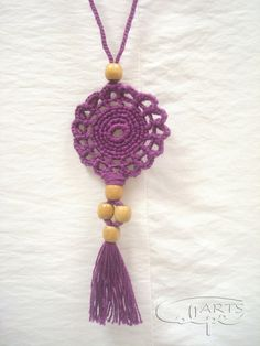 Check out our bands selection for the very best in unique or custom, handmade pieces from our shops. Boho Accessories, Crochet Accessories, Handmade Accessories, Crochet Gifts, Crochet Yarn, Crochet Flowers, Knitting Projects, Crochet Projects, Crochet Collar