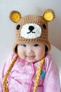 bears, crochet and hats.