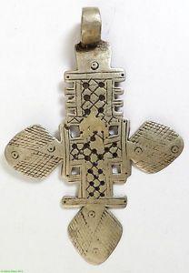 Coptic Cross Pendant Ethiopian Silver Metal African   eBay Croix, Bijoux  Africains, Métal Argenté 310d9099087