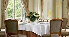 Palace in Versailles--perfect dining