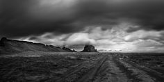Shiprock III by Sandra Herber I spent most of one day shooting the famous Shiprock in NW New Mexico, just as a storm was rolling in on it. Sometimes the clouds were streaming over the top of Shiprock,. Navajo Nation, Over The Top, Extinct, Long Exposure, Volcano, New Mexico, Monument Valley, Backdrops, Mountain