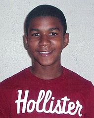 """NYT article about Trayvon Martin murder. """"Mr. Zimmerman, who is studying criminal justice, was arrested once in 2005 on charges of battery on a police officer and resisting arrest with violence. The charges were dropped.    Trayvon had no criminal record. He was suspended from his Miami high school for 10 days in February, which is the reason he was visiting his father. The family said the suspension was not for violent or criminal behavior but for a violation of school policy. """""""