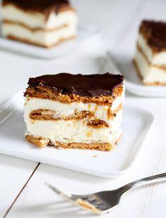 No Bake Gluten Free Chocolate Eclair Cake