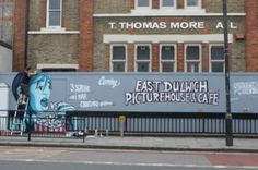 Site of the new East Dulwich Picturehouse pre-construction.