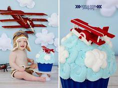 Resultado de imagen para 2 year cake smash planes