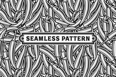 Seamless Chili Pepper Pattern Black And White by iatsun on Envato Elements Simple Background Design, Photoshop, Inspirational Artwork, Web Design Tutorials, Simple Backgrounds, Art Design, Interiores Design, Pattern Wallpaper, Pattern Design