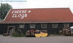 the Cheese and Clog factory in Amsterdam