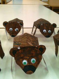 Hibernation - Bear Craft - Kindergarten