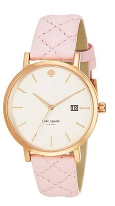 quilted kate spade watch