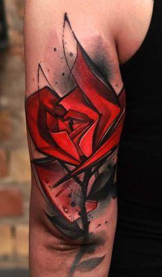 Neck Tattoo For Guys, Tattoos For Guys, Cool Tattoos, Arte Trash Polka, What Is Trash, Tatuaje Trash Polka, Dynamic Tattoo, Best Neck Tattoos, Watercolor Rose Tattoos