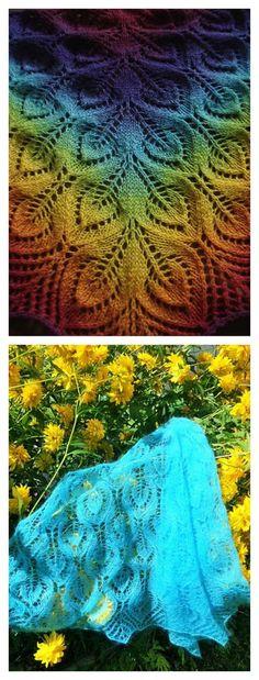 Nightsongs Lace Shawl Free Knitting Pattern