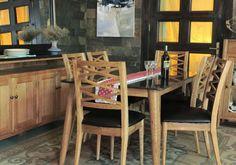 Brondby, dining table, 200 cm oak top, oak dining set, oak dining table, oak dining chair, granite dining set, granite dining table Oak Dining Sets, Dining Chairs, Dining Table, Granite Tops, Table Settings, Furniture, Home Decor, Decoration Home, Room Decor