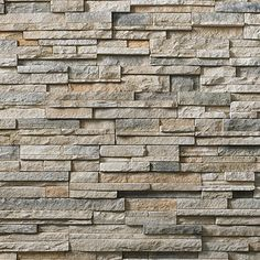 Cultured Stone® Pro-Fit® Alpine Ledgestone provides a rustic look, perfect for indoor or outdoor application. This precise, rugged Ledgestone provides color and shadow creation for a variety … Continued Country Fireplace, Fireplace Wall, Fireplace Design, Fireplace Stone, Fireplace Kitchen, Fireplace Ideas, Stacked Stone Walls, Brick And Stone, Peak Pro