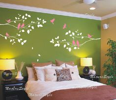 Artistic Wall Decals: A simple yet bold addition to turn any wall into a work of art!