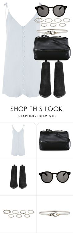 """""""Untitled #6843"""" by laurenmboot ❤ liked on Polyvore featuring Topshop, Givenchy, Ash, Illesteva, Akira and Tiffany & Co."""