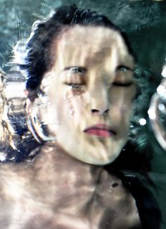 Water Portraits by Lydia Francis, via Flickr