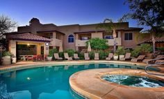 Beautiful resort style North Scottsdale Condo. Quiet, safe area- 2 BR