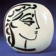 Pablo Picasso: céramique, Vallauris.