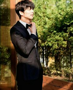 You are the only man that I see waiting in the altar while I walk in the aisle 😍 . Busan, Korean Celebrities, Korean Actors, Goong Yoo, Goblin Gong Yoo, Yoo Gong, Coffee Prince, Asian Babies, Korean Artist