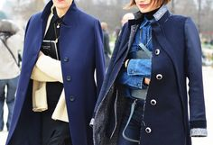 Everything Fabulous: Street Style from Paris {It's All about the Coat}