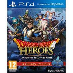 Dragon Quest Heroes - Le Crépuscule De L'arbre Du Monde - Edition Day One #Gaming #JeuVidéo #PS4