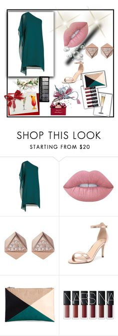 """""""Dating him again"""" by valeriacordoba18 ❤ liked on Polyvore featuring BCBGMAXAZRIA, Lime Crime, FOSSIL, Verali, Sole Society and Salvatore Ferragamo"""