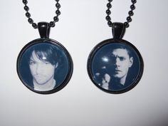 Supernatural Sam and Dean Winchester pendant  I want!!!