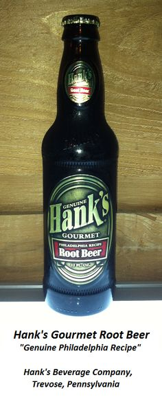 ROOT BEER REVIEW, Hank's Gourmet Root Beer: Mildly rooty aroma with an essence of vanilla.  Pours a nice head of foam.  Quite sweet with a rich, creamy flavor.  Aftertaste features prominent vanilla and caramel notes.  A little more rootiness would be nice.  Would make a very good after-dinner or dessert root beer.