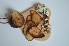 Chips de poires et Roquefort
