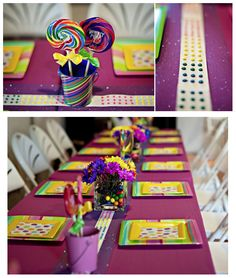 Candy Land Themed Birthday Party!!