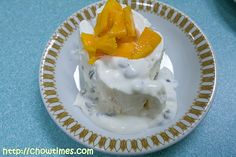 Pavlova Roll with Passion Fruit Cream