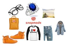 """""""SnapOrangine"""" by racheldenisnefeke on Polyvore featuring Levi's, BUSCEMI, Fjällräven and Bling Jewelry"""