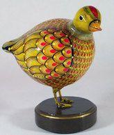 Papier Mache Bird by Sermel, early work...