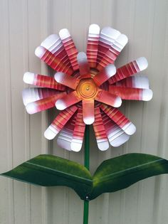 Tin can flower