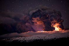 Eyjafjallajokull Volcano Iceland by Gunnar Gestur Geirmundsson