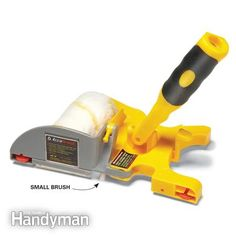 paint edging tools | small brush on the tool cuts a clean paint line.