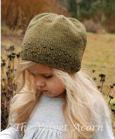 KNITTING PATTERN-The Hamilton Hat Toddler Child por Thevelvetacorn