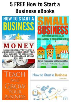 5 FREE How to Start a Business eBooks