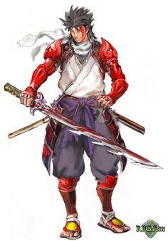 Onimaru from Onimusha Tactics
