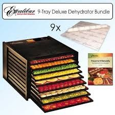 Excalibur Dehydrator.  Want one!  Had the best raw yam chips at a restaurant and now I'm hooked!