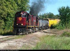 RailPictures.Net Photo: AM 48 Arkansas & Missouri Railroad Alco C420 at Rogers, Arkansas by John Witthaus