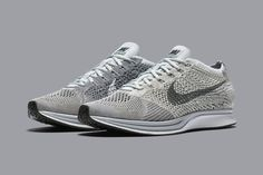 "The Nike Flyknit Racer is about to creep back into your attention span with the their latest drop. With the recent ""Blackout"" release, Nike is set to give"