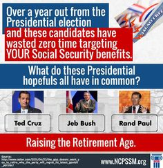 """There will be an uprising if Social Security Benefits are touched. These political """"good old boys"""" just have no common sense."""