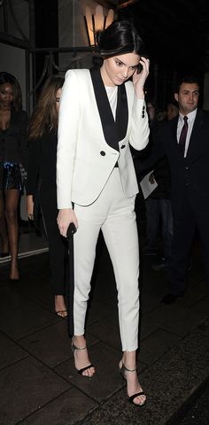 Kendall Jenner: Emilio Pucci Jacket and Pants, Blaque top, Giuseppe Zanotti shoes. 10 Best Dressed: Week of March 2, 2015 – Vogue